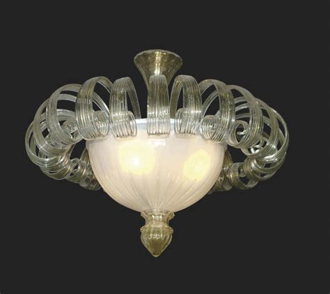 murano glass ceiling light blown glass ceiling light