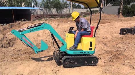 xn mini excavator small excavator youtube