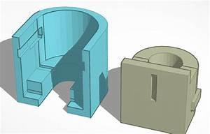3d Model Of The V3 Slider Block And Housing