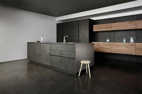 credence pour cuisine grise cuisine gris anthracite 56 idées pour une cuisine chic