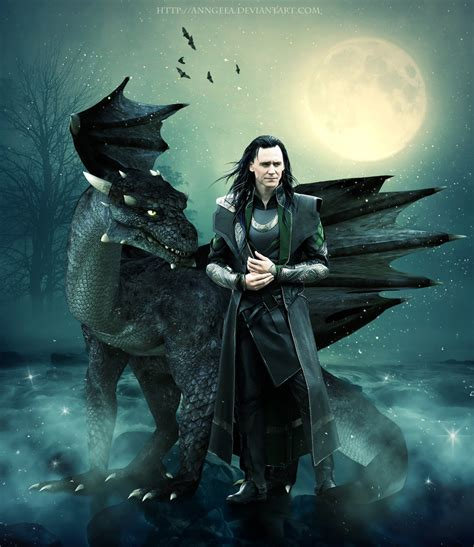 Loki And Dragon 2 By Anngeea On Deviantart