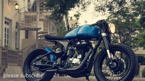 Royal Enfield Continental Gt 650 Modification by Custom Modified Royal Enfield Continental Gt