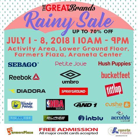 Manila Shopper The Great Brands Rainy Day Sale July 2018