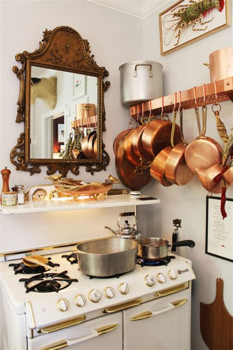 clean copper cookware