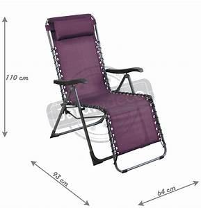 Fauteuil Relax Jardin : fauteuil de jardin relax n o cassis ~ Nature-et-papiers.com Idées de Décoration