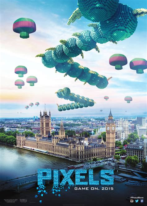pixels movie poster posters cast character date plot