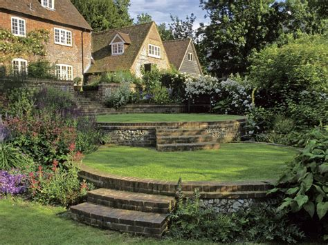 country backyards landscaping ideas and hardscape design hgtv