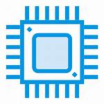 Icon Computer Cpu Frequency Processor Microchip Device