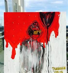 ANTI - Rihanna Album Cover - Abstract by pharaohskylar on ...
