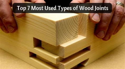 top    types  wood joints