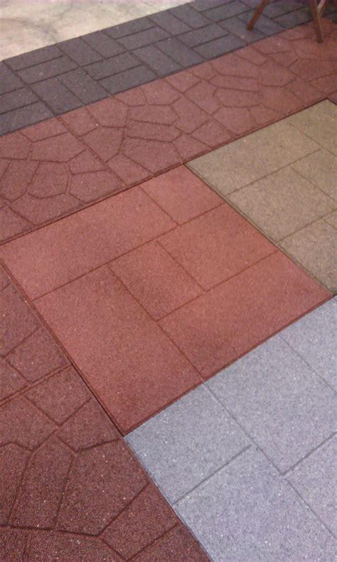 outdoor patio rubber floor tiles 100 recycled rubber flooring tiles add lasting