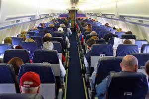 South West Airlines Inside Cabin