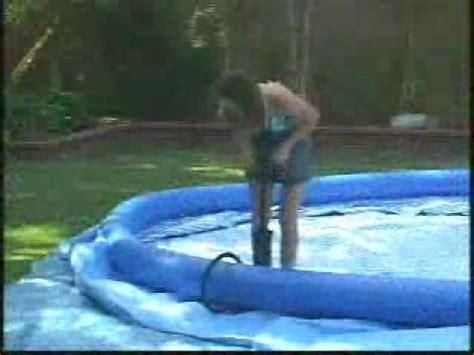 piscine hors sol interieur vid 233 o montage installation piscine hors sol intex