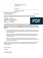 surat rayuan penalti lhdn contoh press