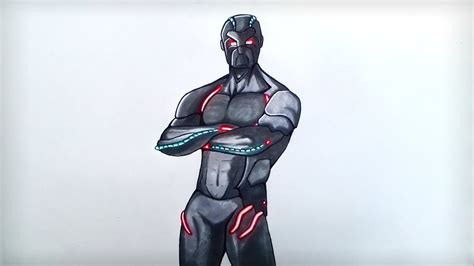 Drawing New Omega Skin [season 4] (from Fortnite)