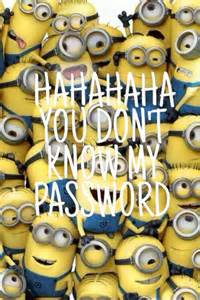 Cute Minion Quotes