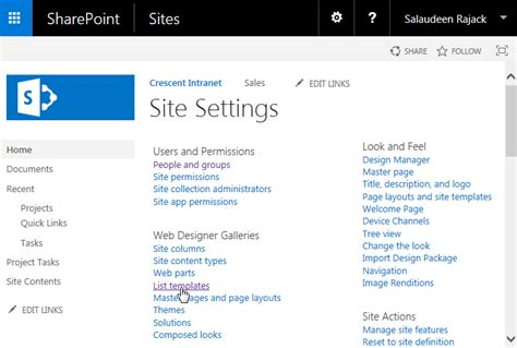 sharepoint site templates how to upload list template in sharepoint 2013 sharepoint diary