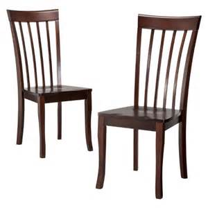 dolce dining chair brown set of 2 target