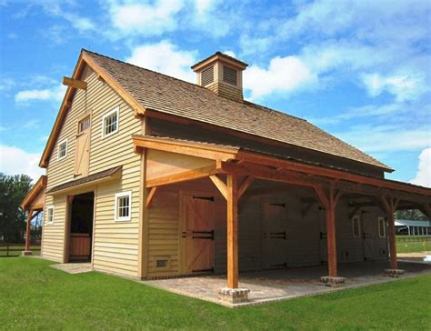 Handcrafted Timber Stable