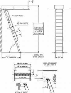 H75 75 Ships Ladder Alaco Ladder