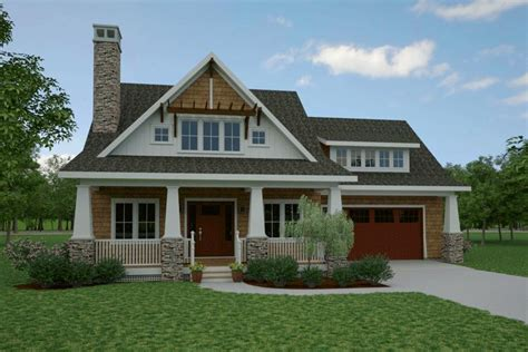 Cottage Plan 1,902 Square Feet, 3 Bedrooms, 3 Bathrooms