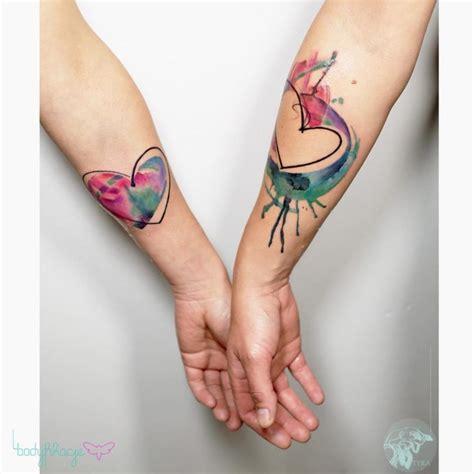 couple heart tattoos  tattoo ideas gallery