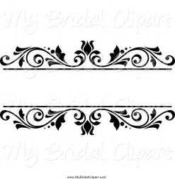 wedding cake topper ideas bridal clipart of a black and white floral wedding frame