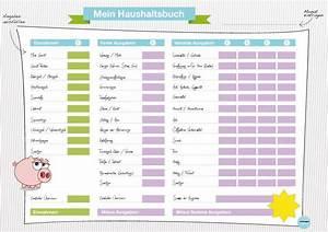 Haushalt Organisieren Plan Vorlage : geld sparen im haushalt haushaltsbuch f hren haushalt tipps tricks geld sparen ~ Buech-reservation.com Haus und Dekorationen