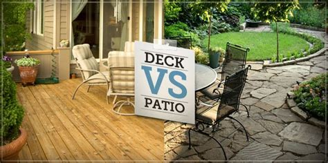 A Deck Or Patio Can Really Extend Your Home's Living Space