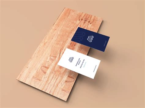 business cards mockup  plank  images business