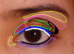 My Icy World Of Color  My Very Own Eye Chart For Eyeshadow