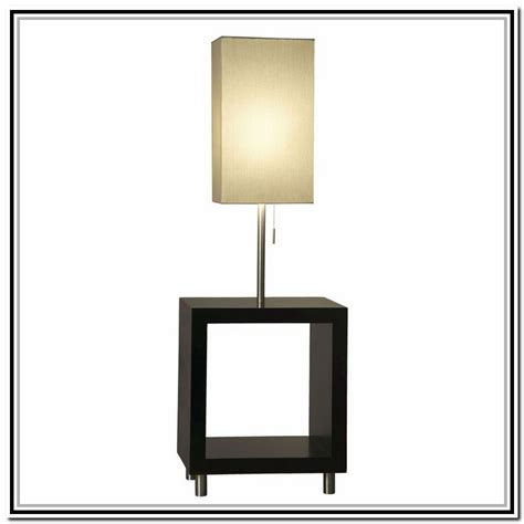 end table with built in l side table with built in l lighting and ceiling fans