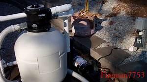 Installing A New Hayward Sand Filter