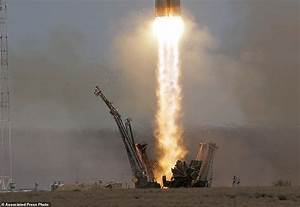 Soyuz space capsule blasts off from Kazakhstan | Daily ...