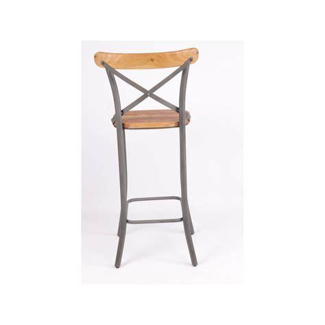 chaise bistro chaise haute de bistro industrielle jp2b décoration