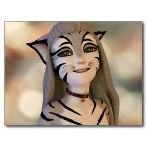 Cute Anime Cartoon Cat