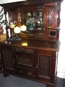 Edwardian Sideboards For Sale by Walnut Edwardian Carved Sideboard Antiques Atlas