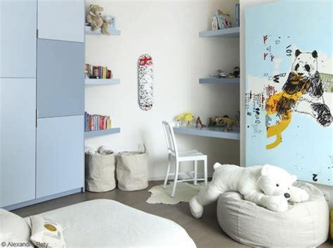 d馗oration chambre garcon idée décoration chambre garcon bleue