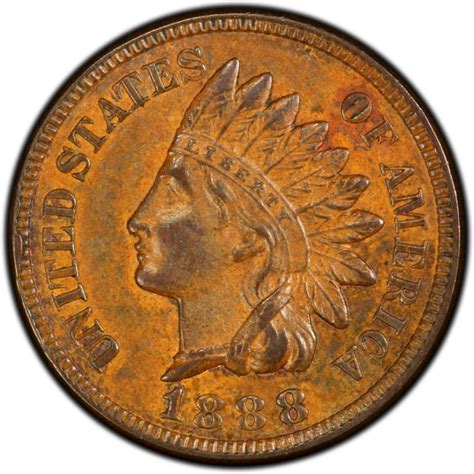 indian pennies 1888 indian head pennies values and prices past sales coinvalues com