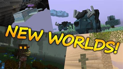 Minecraft Top 5 Dimension Mods (new Worlds)