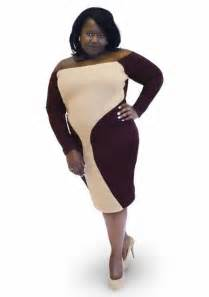 Plus Size Brown Dresses