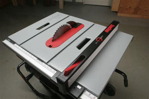 sawstop table saw dimensions sawstop portable job site tablesaw
