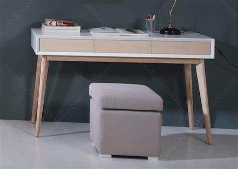 modele bureau design bureau design scandinave en frêne et mdf de qualité chez
