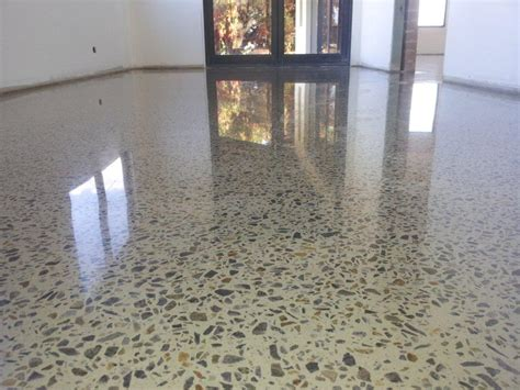 Polishing Terrazzo Floors Diy by Recent Projects Renostrip
