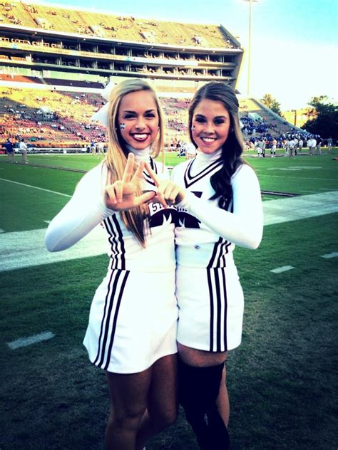 mississippi state cheerleaders bring gameday closer