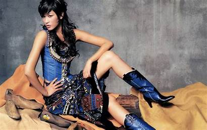 Boots Asian Clothes Models Cowgirls Asians Clothing