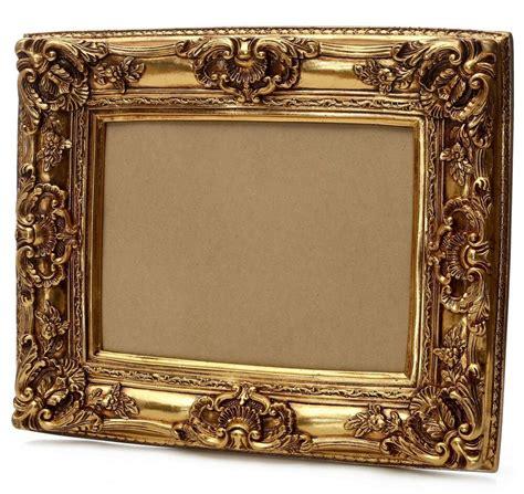 gold bilderrahmen bilderrahmen barock antik rahmen gold 60x50cm fotorahmen vintage foto wanddeko ebay