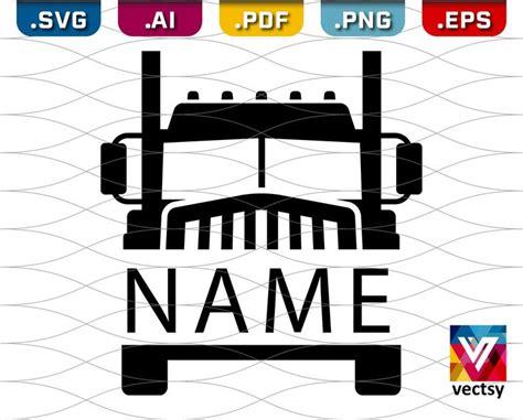semi truck  clipart truck driver semi truck svg  vectsy  etsy truck names semi