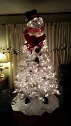 snowman christmas tree snowman tree topper  cracker