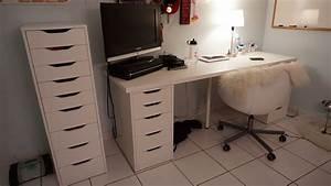 Ikea Schreibtisch Alex : ikea schreibtisch linnmon ~ Orissabook.com Haus und Dekorationen